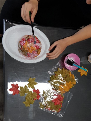 Leaf Bowl in production
